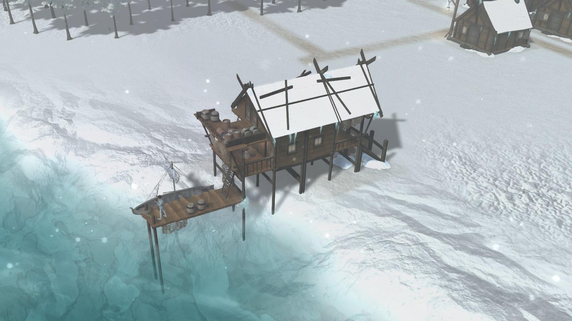Patron survival city builder
