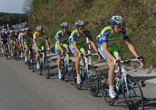 Liquigas, Tour de Romandie 2010, stage 2