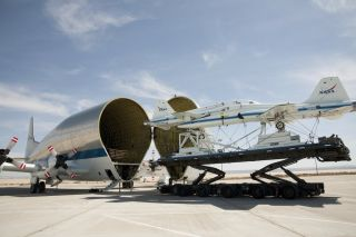 Super Guppy Swallows T-38s