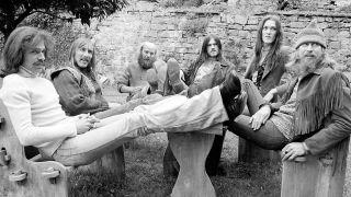 Hawkwind in 1974