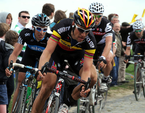 Tom Boonen, Paris-Roubaix 2010