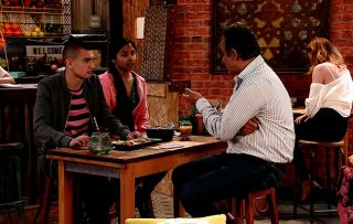 Coronation Street spoilers: Dev Alahan confronts the kids about their school tests