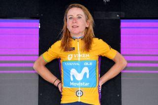 Annemiek Van Vleuten of Movistar Team Women won the GC title at the 2021 Ladies Tour of Norway