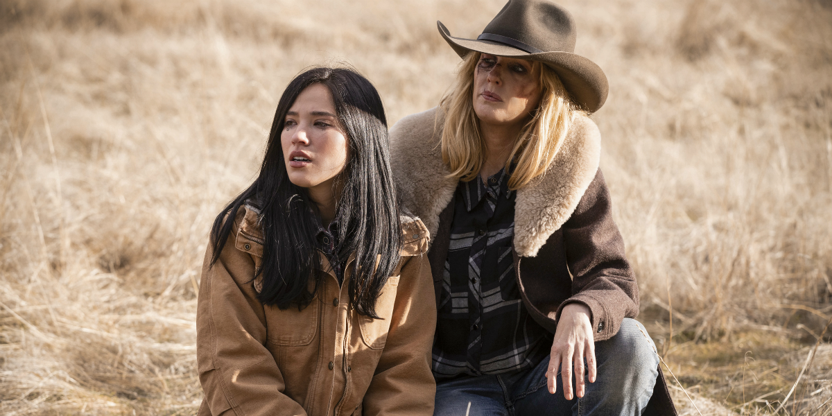 Yellowstone Monica Long Kelsey Asbille Beth Dutton Kelly Reilly Paramount Network