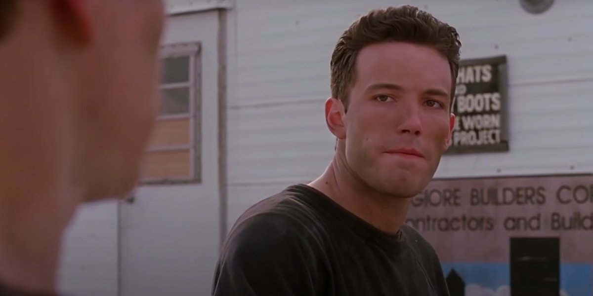 Ben Affleck in Good Will Hunting