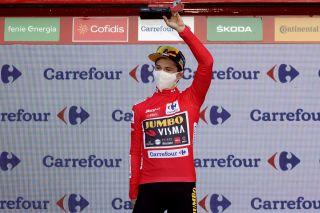 Vuelta Espana 2020 - 75th Edition - 10th stage Castro Urdiales - Suances 185 km - 30/10/2020 - Primoz Roglic (SLO - Team Jumbo - Visma) - photo Luis Angel Gomez/BettiniPhoto©2020