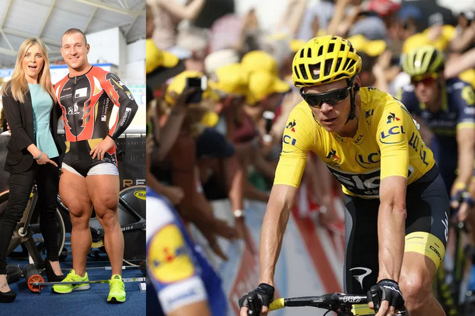 How do cyclists get big legs?' - you asked Google and we've got the