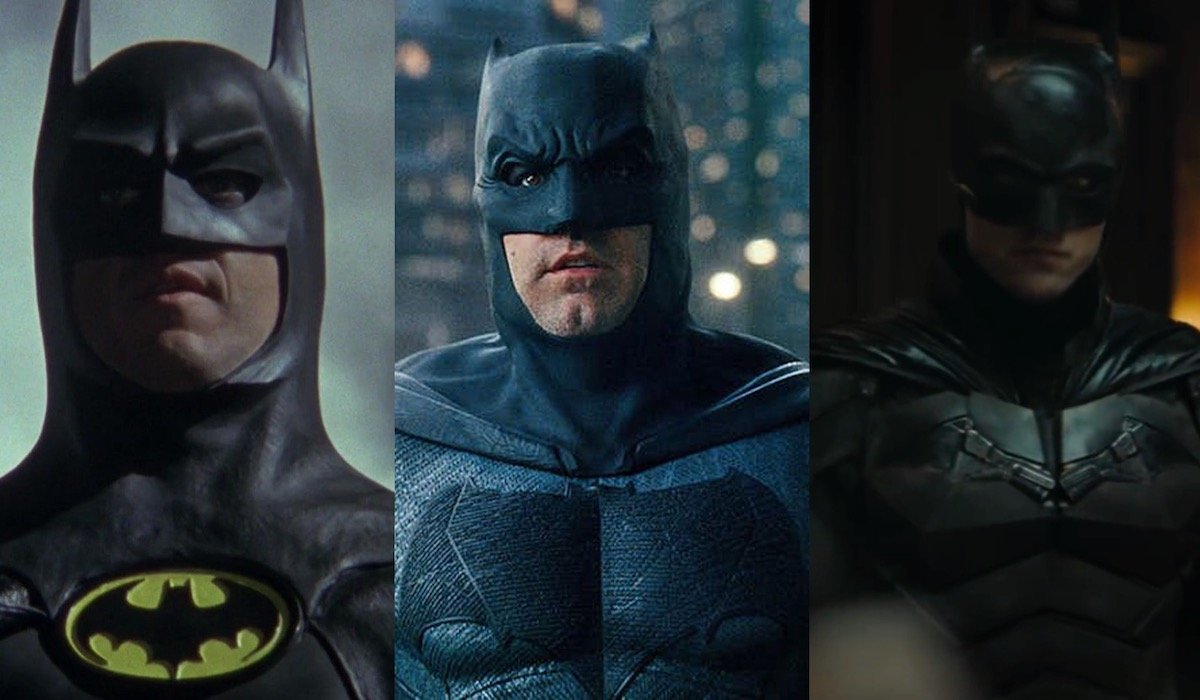 Michael Keaton, Ben Affleck, Robert Pattinson Batman