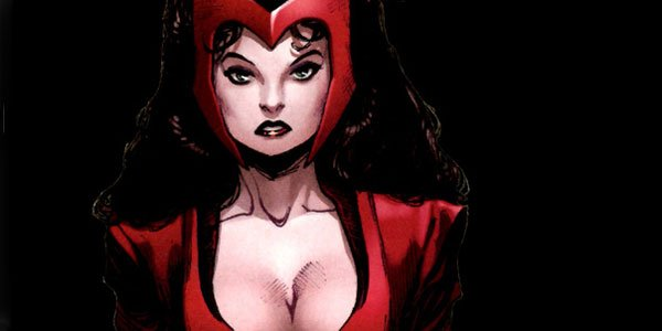 scarlet witch in the comics
