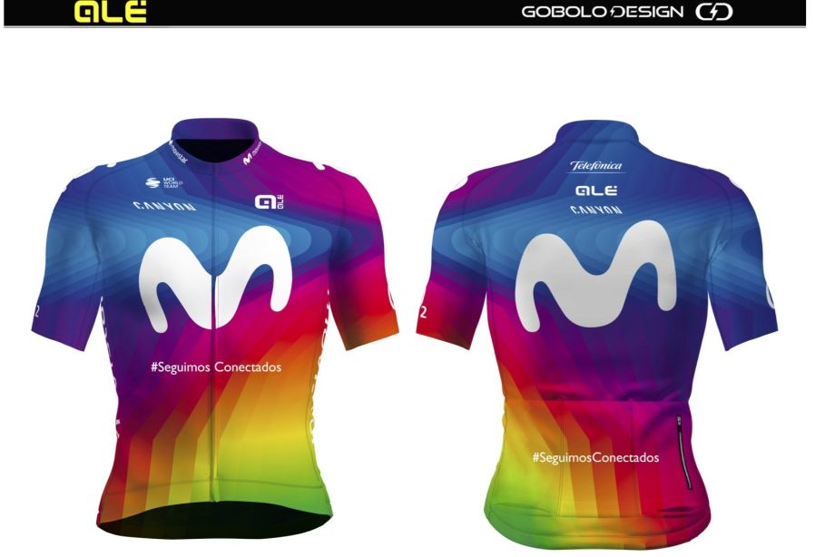 Alé Team Movistar Jersey