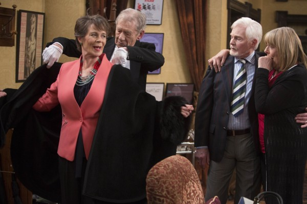 Celia Imrie appears in the new series of Vicious (ITV)