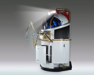 ingle-Person spacecraft full-scale mockup