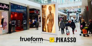 Trueform, Pikasso Sign DOOH Partnership