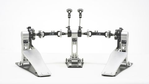 ACD Unlimited Darwin middle double pedal machined from stainless steel
