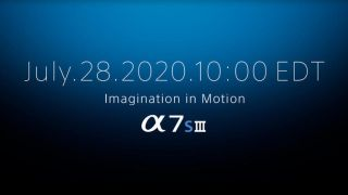 Sony confirms that the Sony A7S III will be revealed on 28 July –and leaks indicate 12MP, 4K 120p, and NO overheating