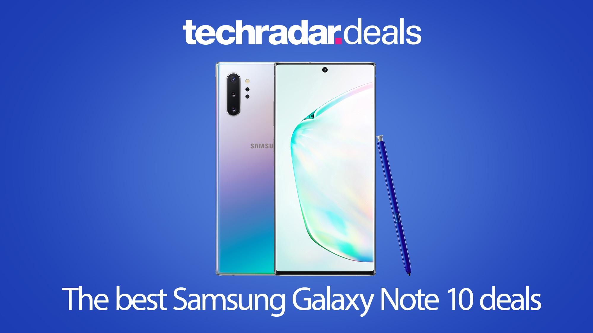 The Best Samsung Galaxy Note 10 Deals In April 2021 Techradar