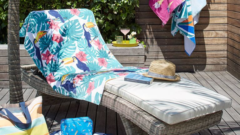 The best garden loungers: Dante sun lounger from John Lewis & Partners