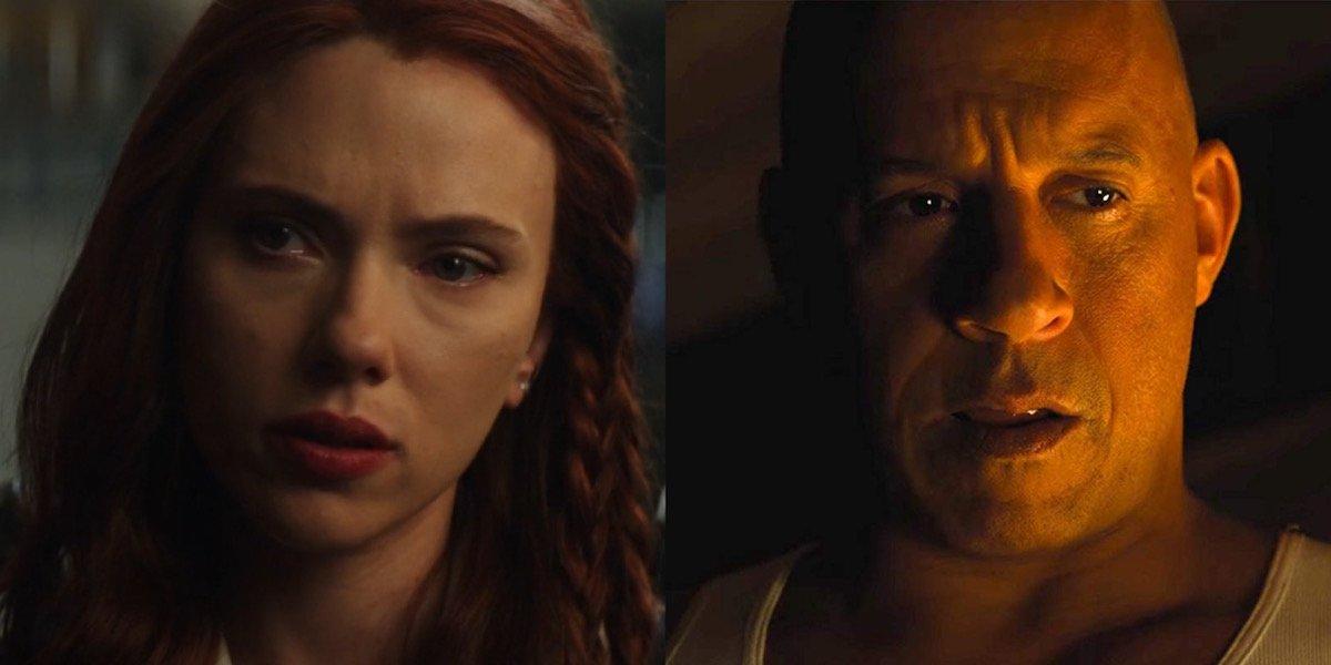 Scarlett Johansson and Vin Diesel
