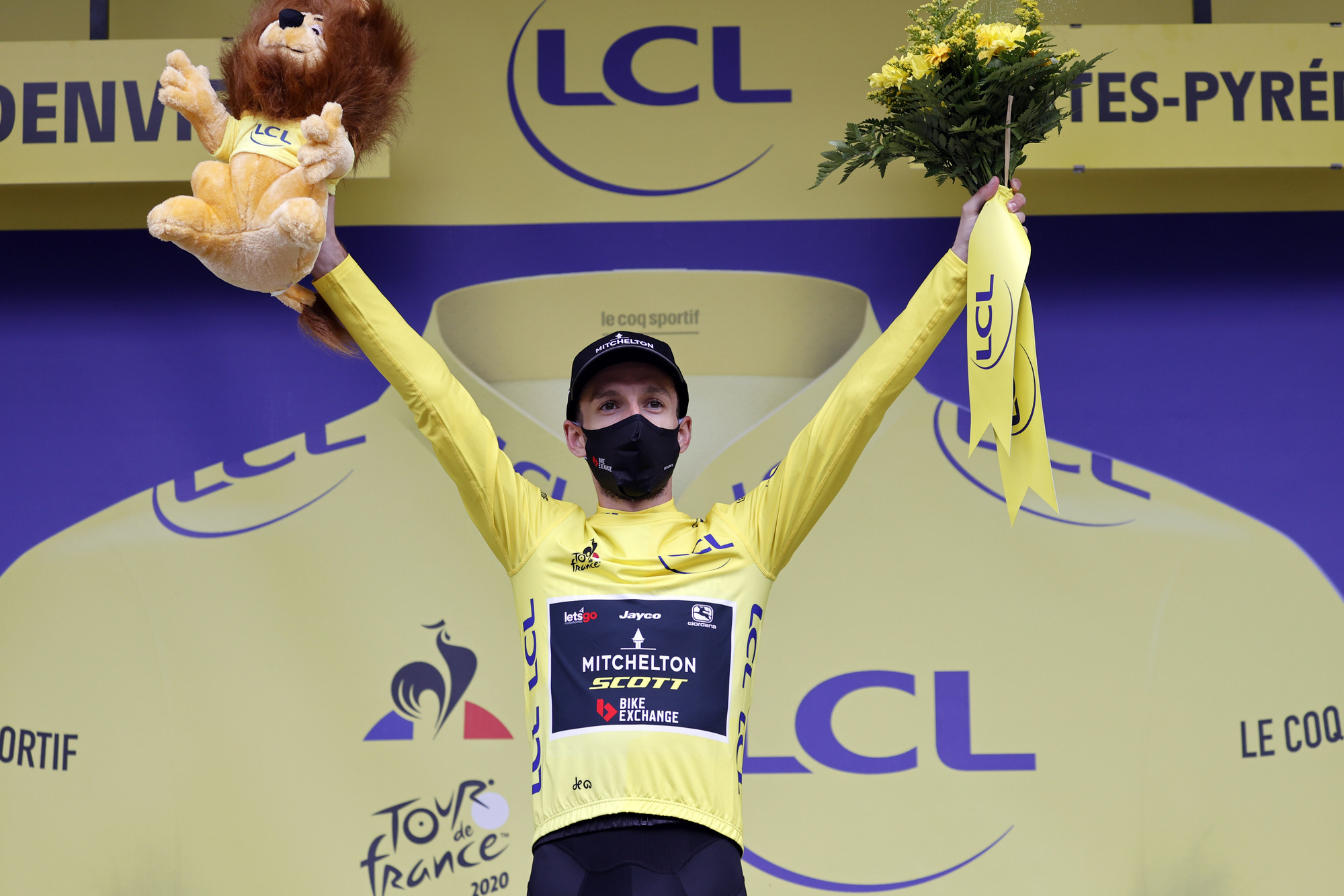 Tour de France 2020 - 107th Edition - 7th stage Cazeres - Loudenvielle 141 km - 05/09/2020 - Adam Yates (GBR - Mitchelton - Scott) - photo POOL Sunada/BettiniPhoto©2020