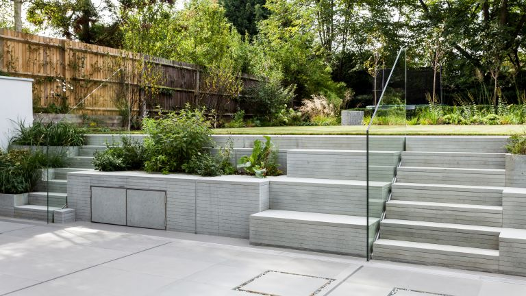 Garden steps ideas