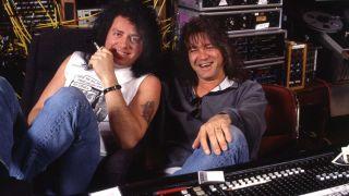 Steve Lukather and Eddie Van Halen