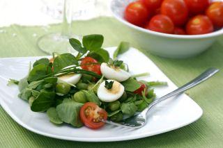 A small salad