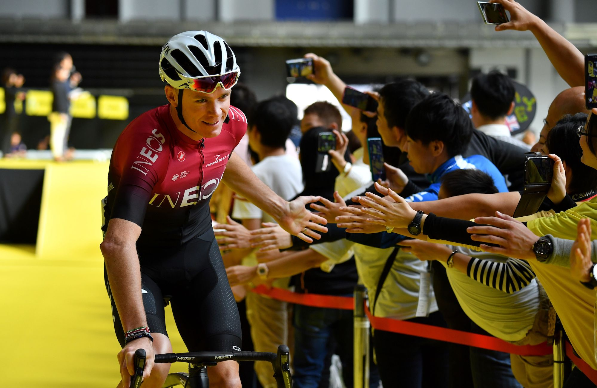 Chris Froome announces first race back after injury