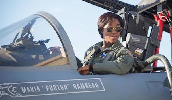 Lashana Lynch as Maria Rambeau in Captain Marvel