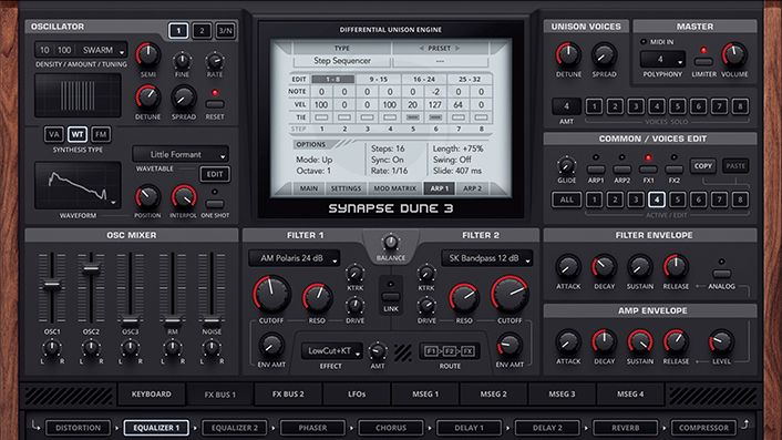 how to get started with synapse audio dune 3 39 s wavetable editor musicradar. Black Bedroom Furniture Sets. Home Design Ideas
