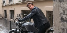 After Tom Cruise Jumped Off A Cliff For Mission: Impossible 7, The Director's Tease For Movie 8 Has Me Nervous