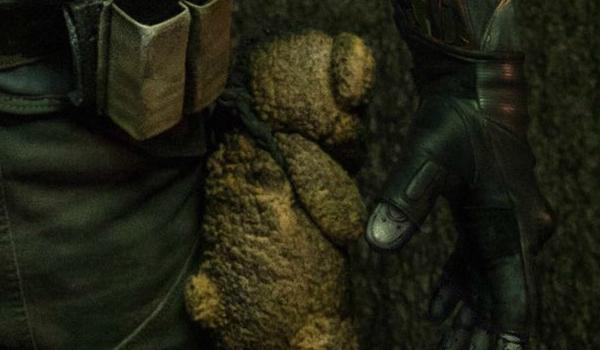 Cable's teddy bear
