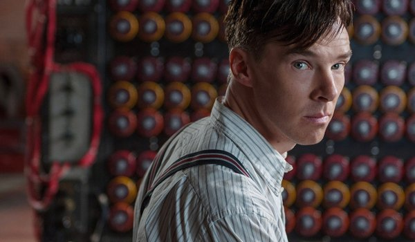The Imitation Game Benedict Cumberbatch at the machine