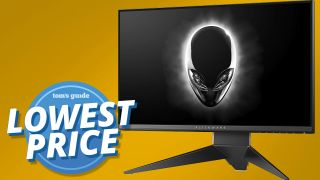 Alienware 25-inch gaming monitor CM2019 splash