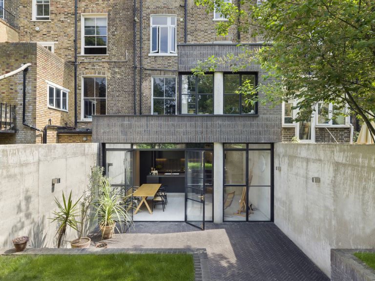 How to add value to a Victorian terrace: double storey flat extension