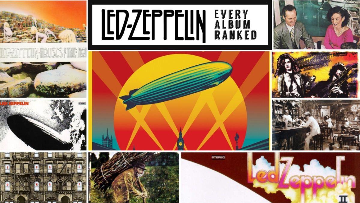 Led Zeppelin Albums Ranked From Worst To Best The