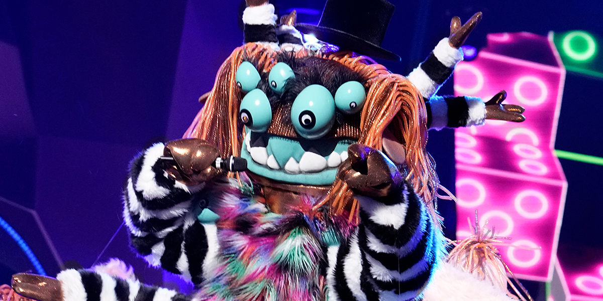 The Masked Singer The Squiggly Monster FOX