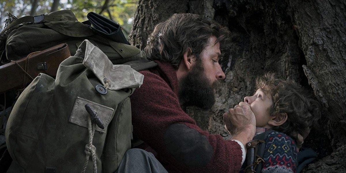 John Krasinski in the first Quiet Place movie