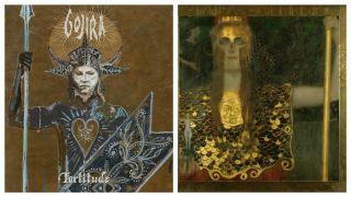 Gojira cover painting