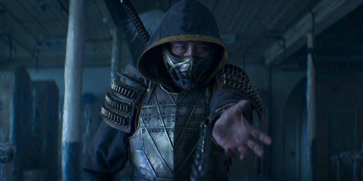Scorpion Get Over Here Mortal Kombat 2021