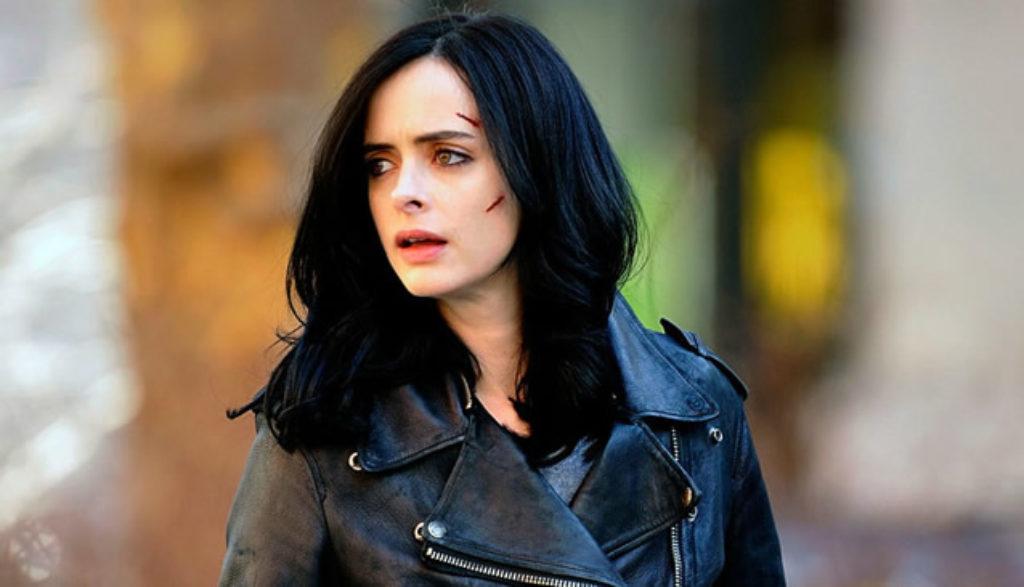 Kristen Ritter como Jessica Jones.