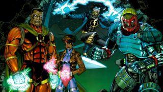 image of Milestone Comics characters