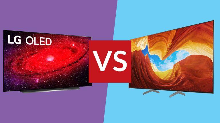 LG CX vs Sony XH90