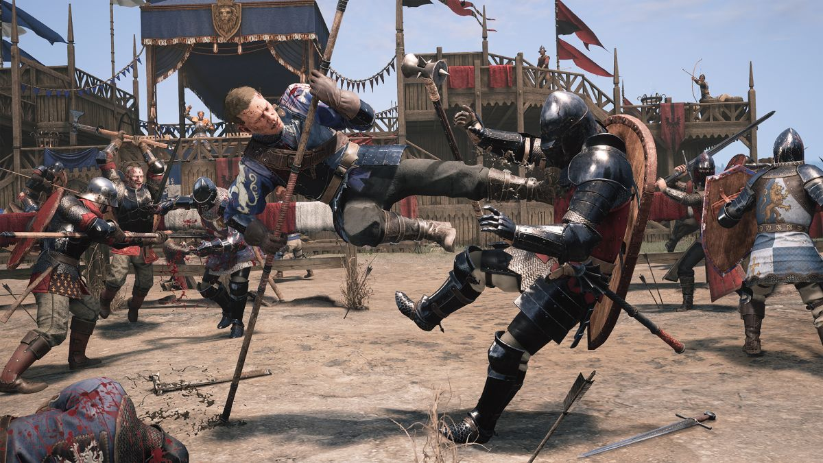 Chivalry 2's medieval combat is nuanced, gory, and spectacularly fun