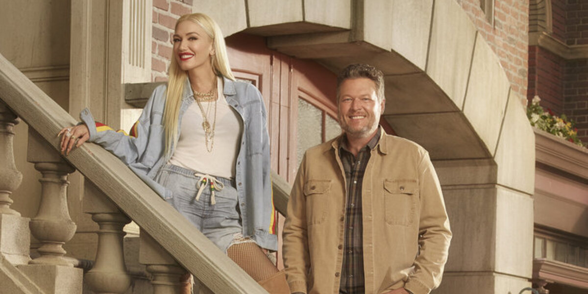 The Voice Gwen Stefani Blake Shelton NBC