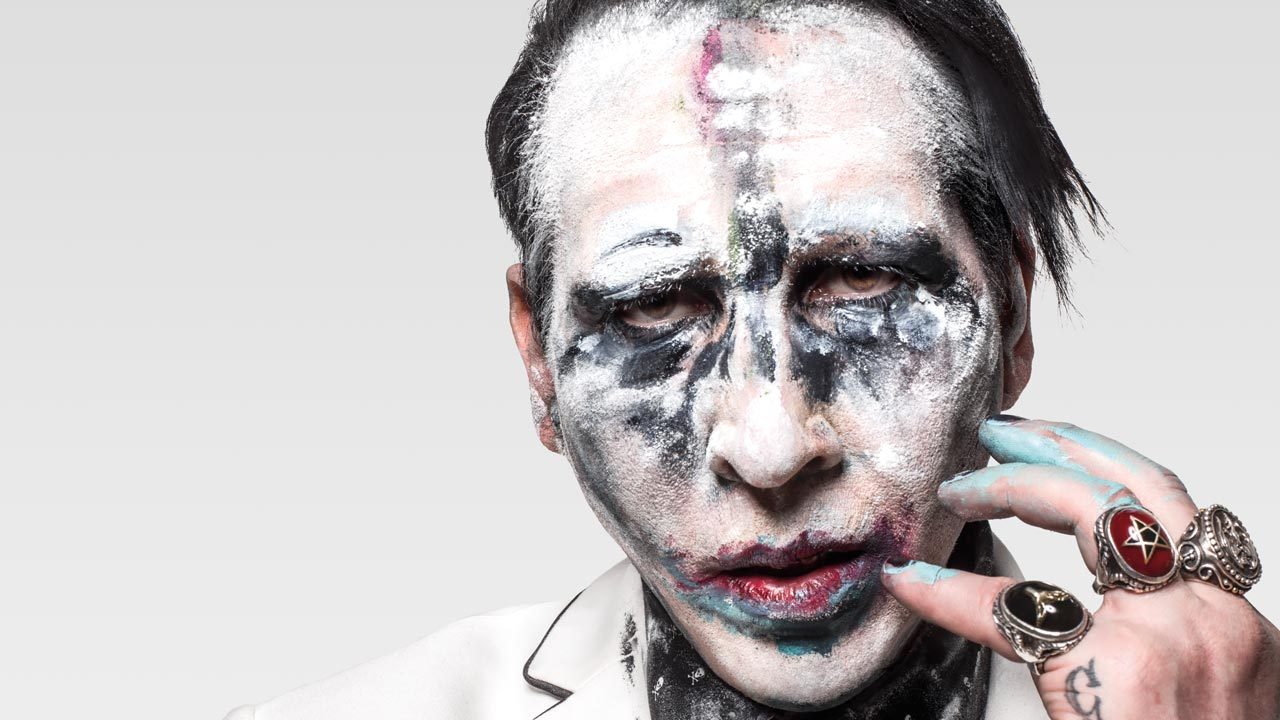 Marilyn Manson has nearly finished his new album