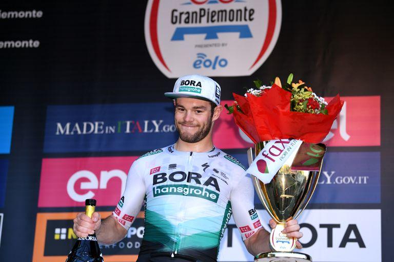 Matt Walls on the Gran Piemonte podium