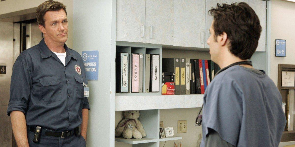 Neil Flynn, Zach Braff - Scrubs