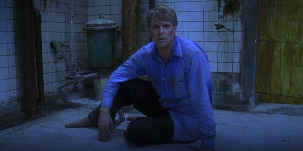 Carey Elwes in Saw