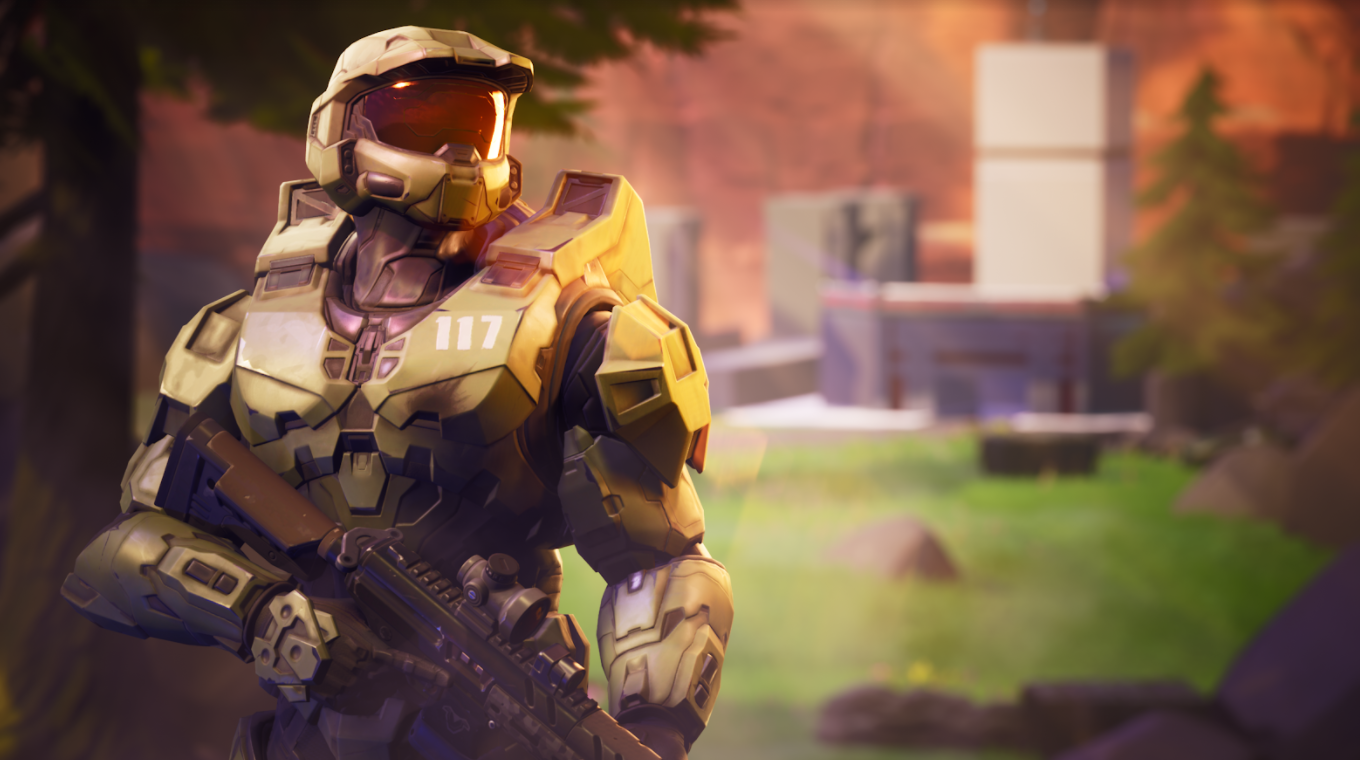 You can be Master Chief in Fortnite now