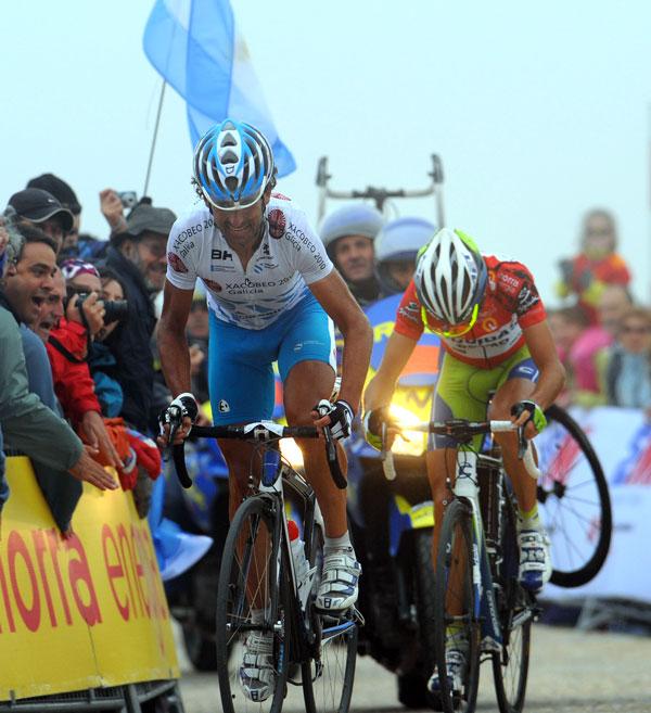 Mosquera wins, Vuelta a Espana 2010, stage 20